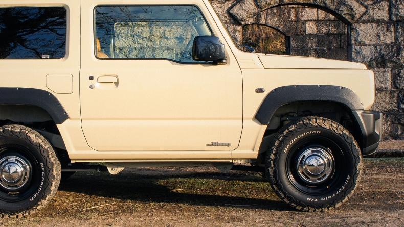 新型ジムニー JB64 純正車高で履けるオフロードタイヤのご紹介!【おすすめカスタム:タイヤ編】