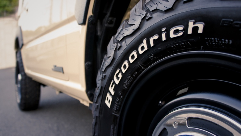 BFグッドリッチ・オープンカントリーなどホワイトレタータイヤの汚 れを簡単に落とし白くする方法!